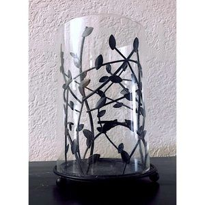 Tree Branch Glass Candle Holder